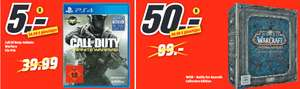 [Lokal: MM Alzey] WoW: Battle of Azeroth - Collectors Edition | Call of Duty: Infinite Warfare PS4 für 5€ | Zeugnisaktion am 25./26.1.