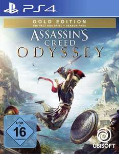 Assassin's Creed Odyssey Gold Edition (PS4 & Xbox One) für je 44,99€ (GameStop)