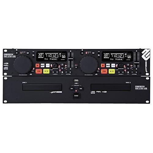 RELOOP RMP-2760 USB DOPPEL-CD-MP3-PLAYER
