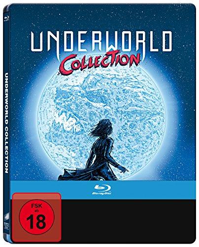 Underworld - Collection 1-5 Limited Steelbook Edition (Blu-ray) für 20,76€ (Amazon)