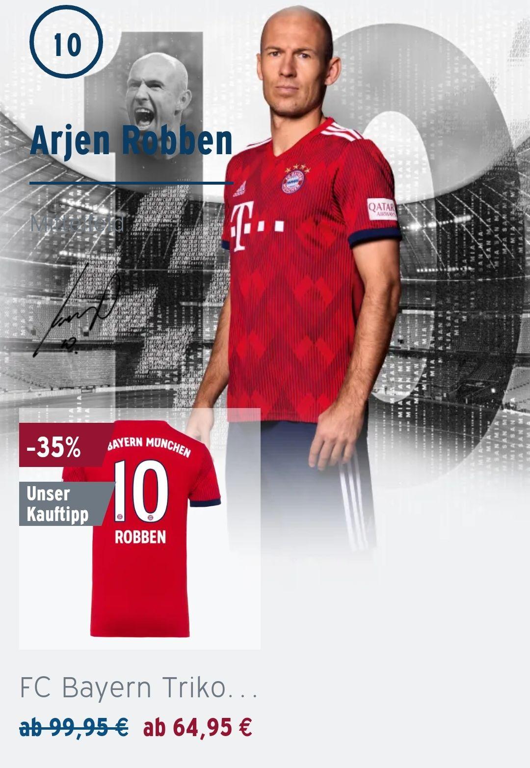 FC Bayern München Trikot von Arjen Robben 31-45%
