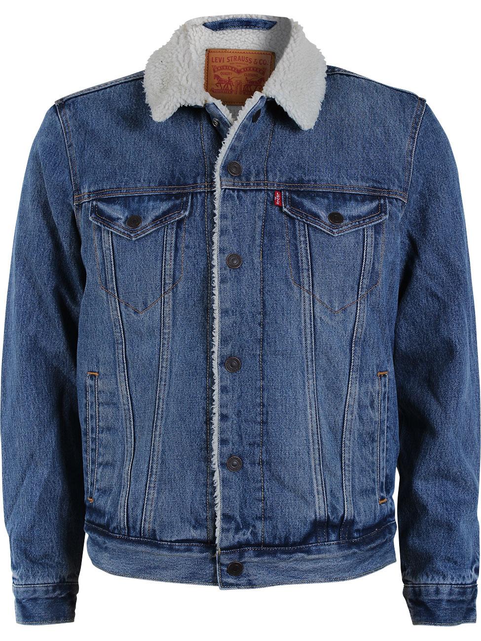 Jackenpardy bei Jeans Direct mit 50% Rabatt alle Modelle (Sale inkl & kein MBW) z.B. Levis® Herren Jeansjacke Sherpa Trucker