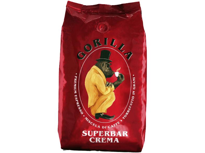 Kaffeebohnen Joerges Gorilla Super Bar Crema [Media Markt]