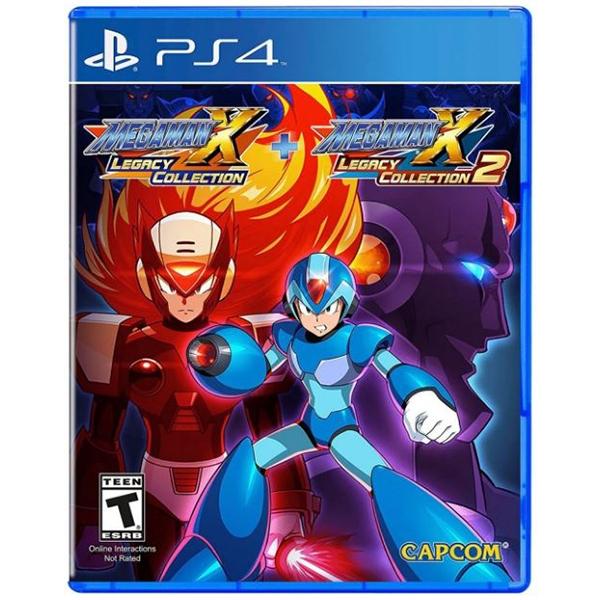 Mega Man X Legacy Collection 1 + 2 PS4 Playstation 4