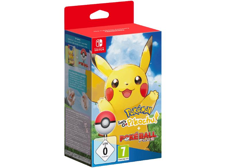 [Mediamarkt] Pokémon: Let's Go, Pikachu! + Pokéball Plus [Nintendo Switch] für 79,-€