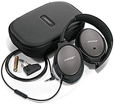 Bose QuietComfort 25 Acoustic Noise Cancelling Kopfhörer (geeignet für Apple-Geräte) schwarz [Amazon]