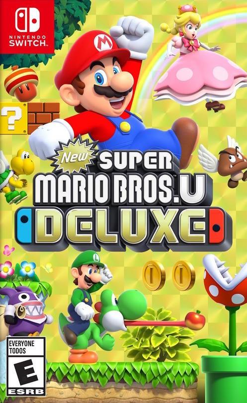 New Super Mario Bros. U Deluxe Nintendo Switch (Check24)