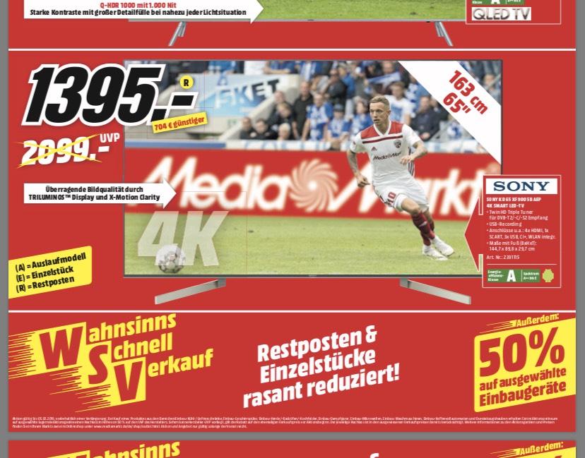 Media Markt Delmenhorst Sony KD 65XF9005