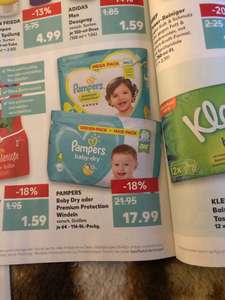 Pampers Baby Dry oder Premium Protection Windeln