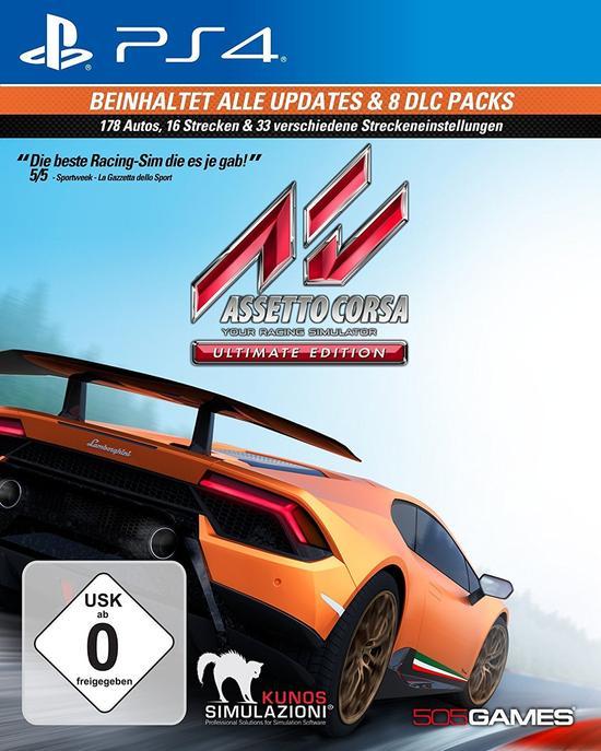 Assetto Corsa: Ultimate Edition (PS4) für 24,99€ (GameStop & Amazon Prime)