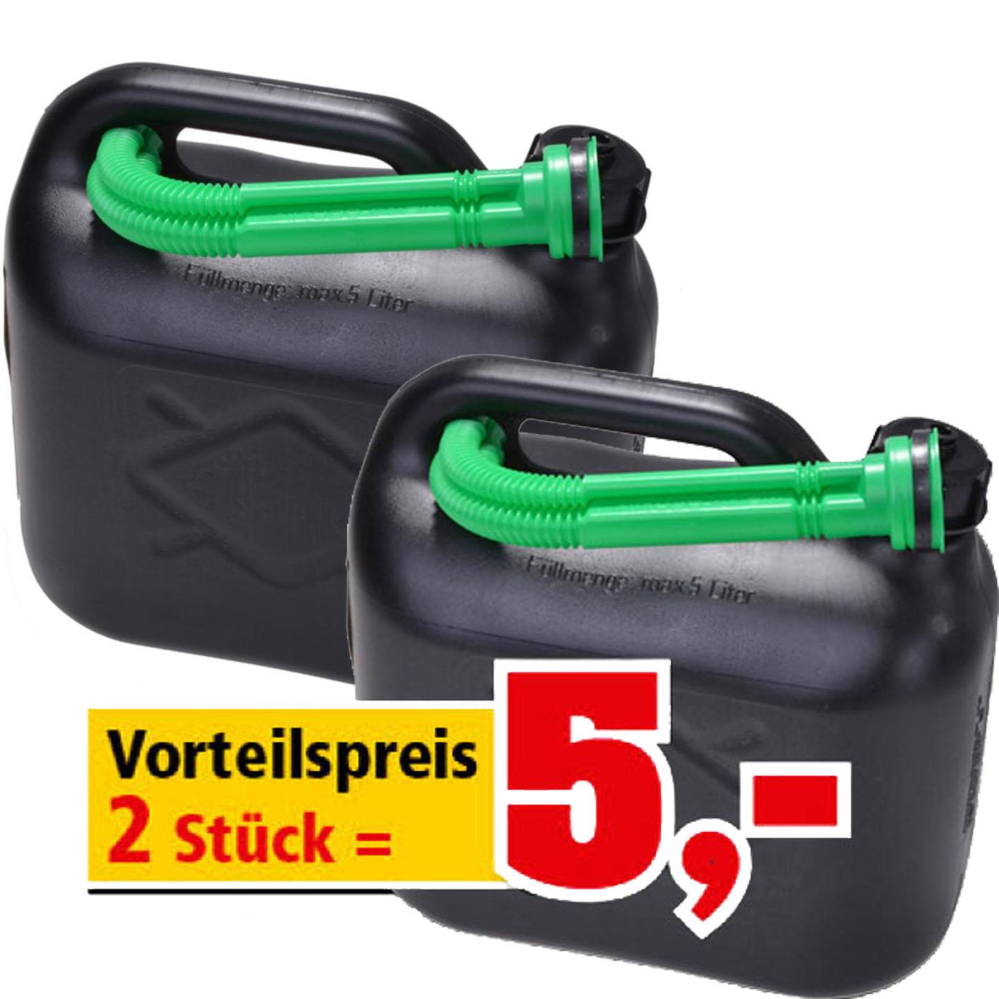 2 Benzinkanister für nur 5 € bei (Thomas Philipps )