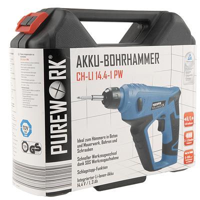 PUREWORK Li-Ionen-AKKU-Bohrhammer für nur 24,99 EUR inkl. Versand!