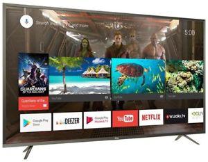 "[computeruniverse] TCL U49P6046 - 49"" 4K UHD Smart TV (60 Hz, VA-Panel, Direct LED, HDR10@8bit+FRC, HLG, Android TV 7)"