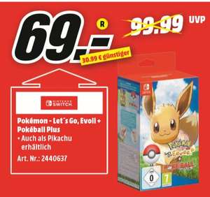 regional mediamarkt lingen und meppen pok mon let 39 s go go evoli pok ball plus switch. Black Bedroom Furniture Sets. Home Design Ideas