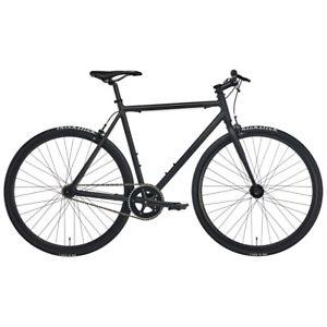 Fixie Blackheath Black 2018 Cityrad (Herren, Singlespeed Bike, 1 Gang, Felgenbremse, Rahmenhöhe 51/53/55,5/57,5/60cm)