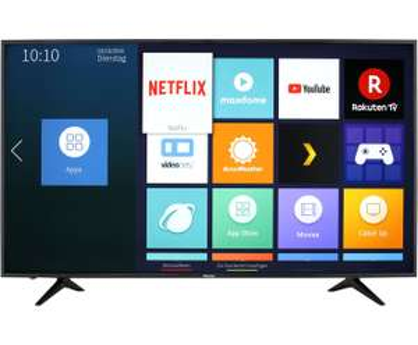 "Hisense H65AE6030 - 65"" 4K UHD Smart TV (VA, Direct LED, HDR10@8bit+FRC, 60 Hz, VIDAA U)"