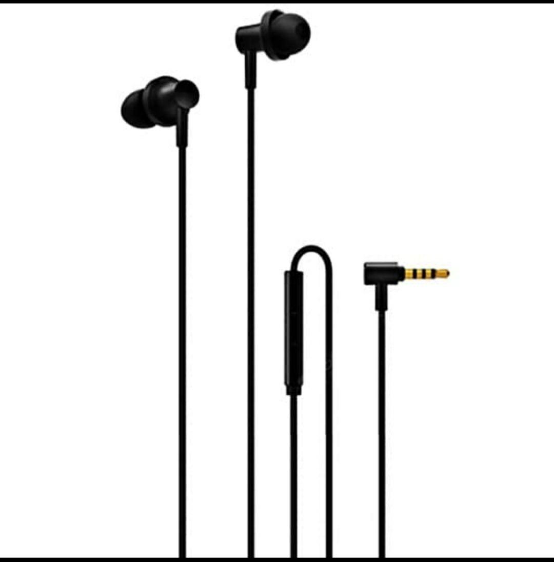 Original Xiaomi QTEJ03JY Piston 2 Pro Hybrid Dual Drivers in ear Kopfhörer Headset- SCHWARZ
