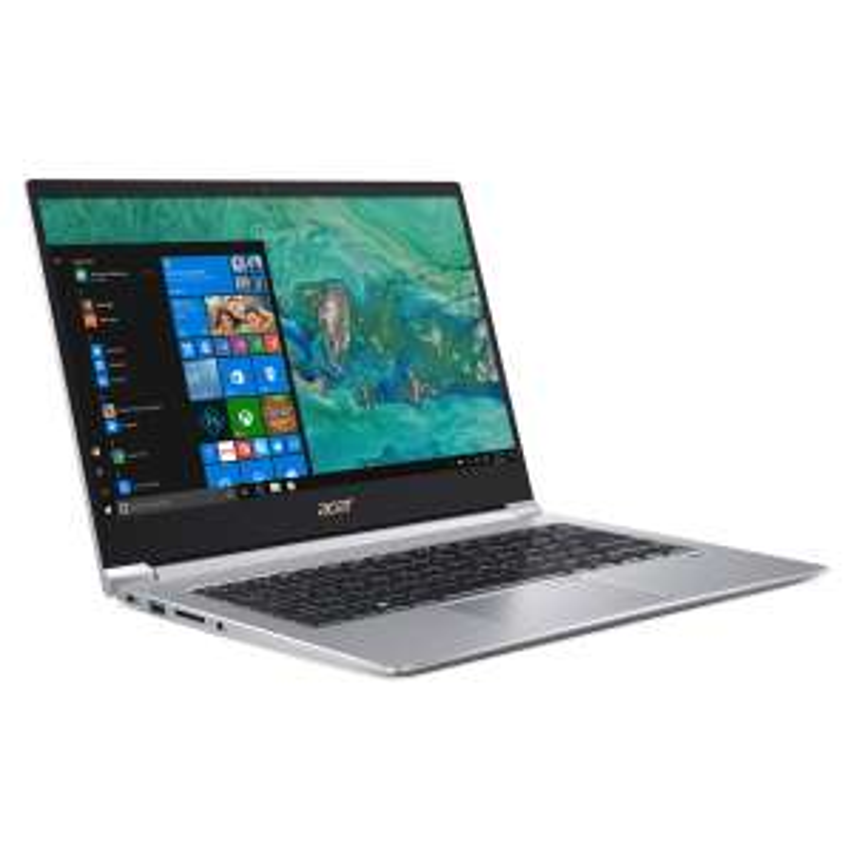 """Acer-WSV: z.B. Acer Swift 3 SF314-55-58CX (14"""", FHD, Intel Core i5-8265U, 8GB RAM, 256GB SSD, GeForce MX150, USB-C, 2x USB 3.0, SD, Win10)"""