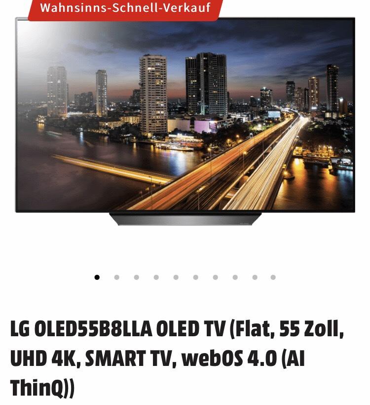 LG Oled 55B8LLA  - Mediamarkt