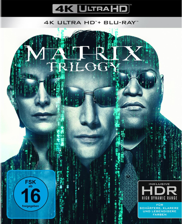 (Amazon.fr) Matrix Trilogie 4K UHD Bluray Box Alle mit deutschem Ton