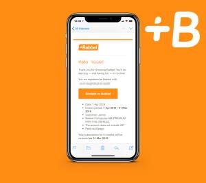 Babbel Premium 6 Monate für 20€ statt 50€