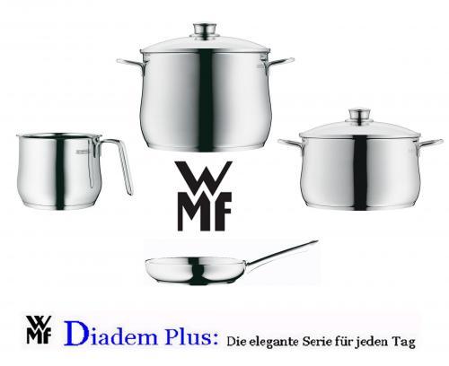 WMF Diadem Kochtopf- Pfannen Set 6tlg.