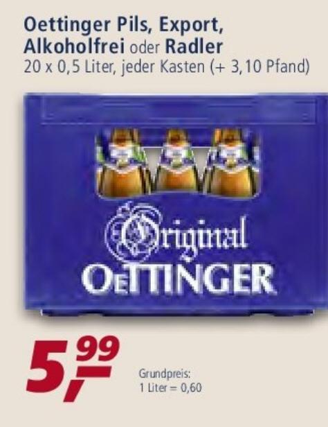REAL - Oettinger - Pils , Export ;alkoholfrei , Radler