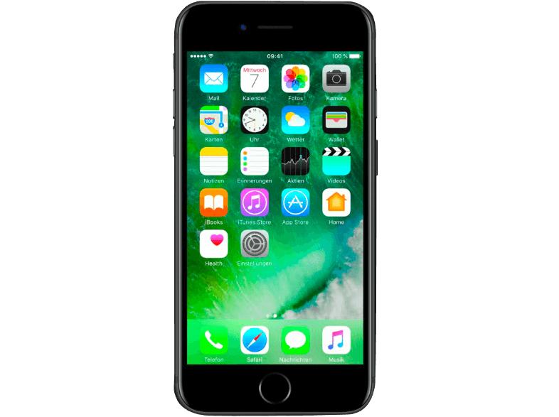 Media Markt online Apple Iphone 7 32GB schwarz/silber für 369 Euro