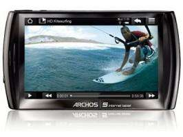 "ARCHOS 5 Internet Tablet 16 GB 12 cm (4.8"") Touchscreen WiFi Bluetooth Android 59.-EUR"