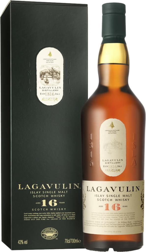 Lagavulin 16 Jahre, sehr guter Single Malt Whisky im Angebot bei Real.de