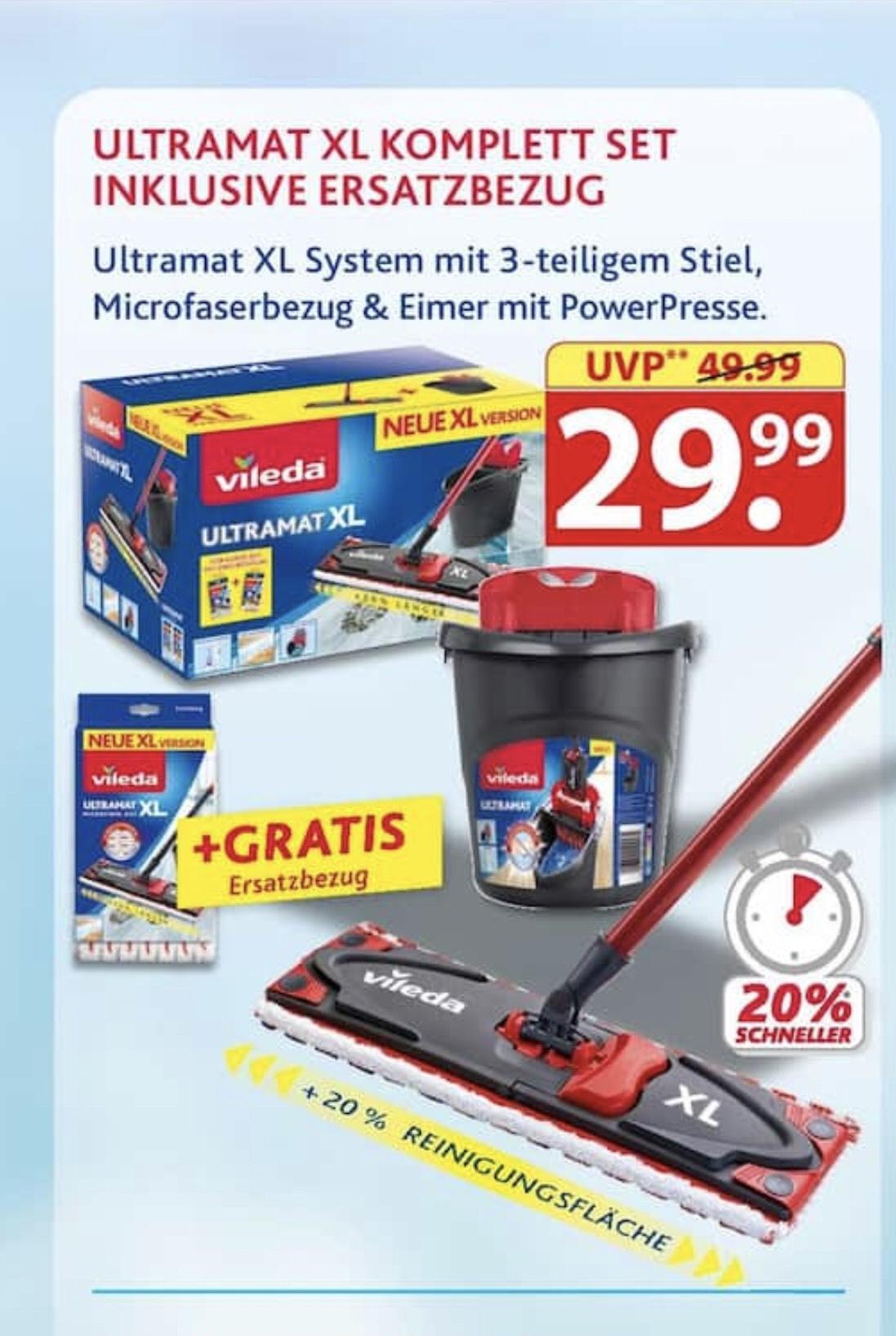VILEDA ULTRAMAT XL + Gratis Ersatzbezug 29,99€ bei FAMILA (offline)