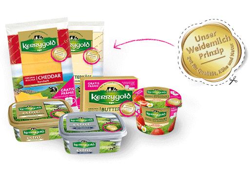 Tasse oder Müslischale als Belohnung für den Kauf von 15 beliebigen Kerrygold Produkten