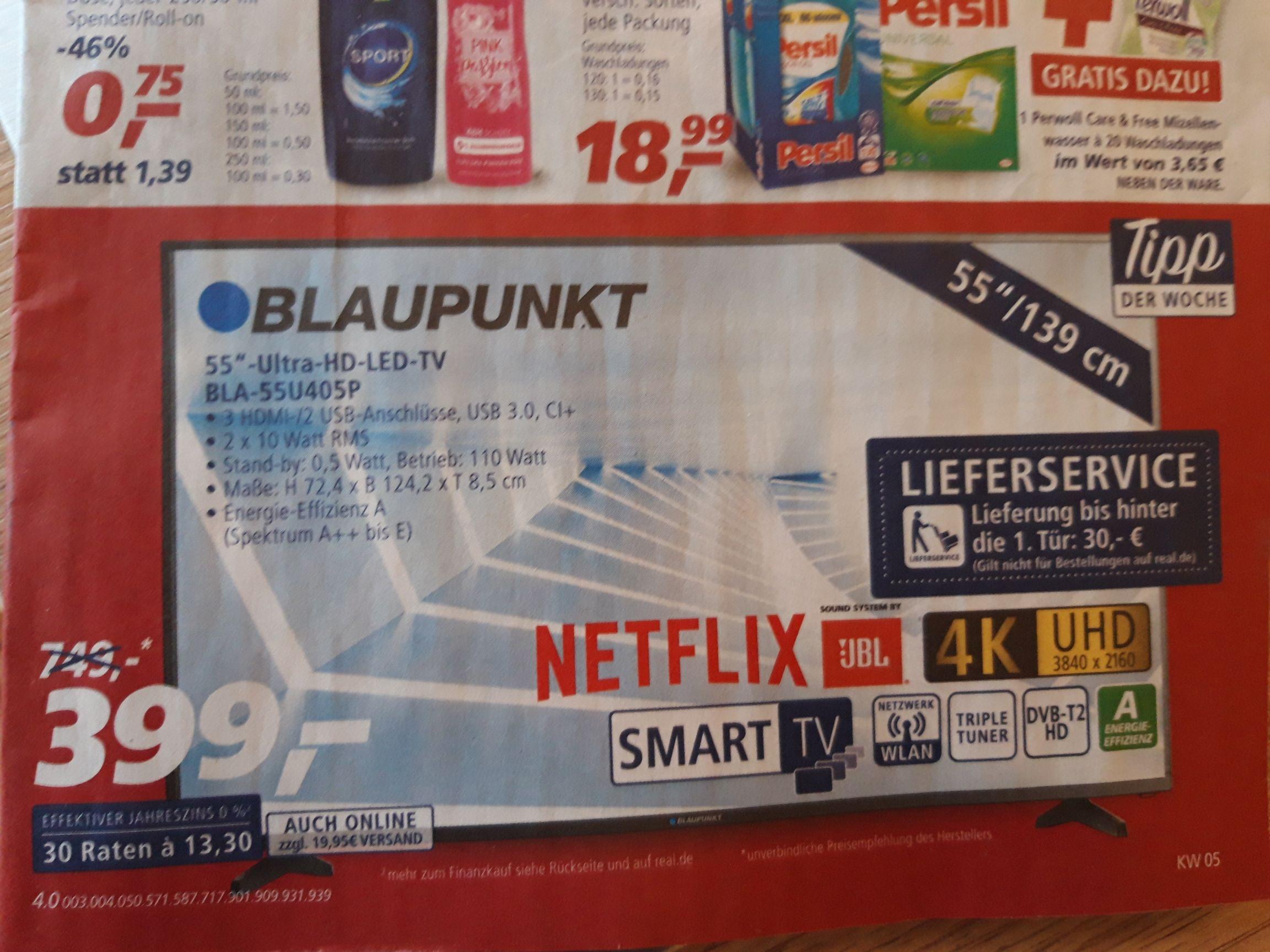 """Blaupunkt UHD TV 55"""" BLA-55U405P"""