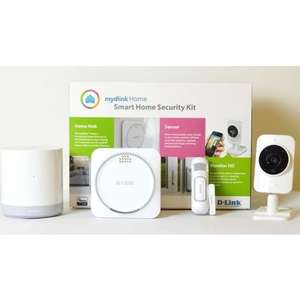 D-Link Smart Home Security Kit DCH-107KT für nur 69,99