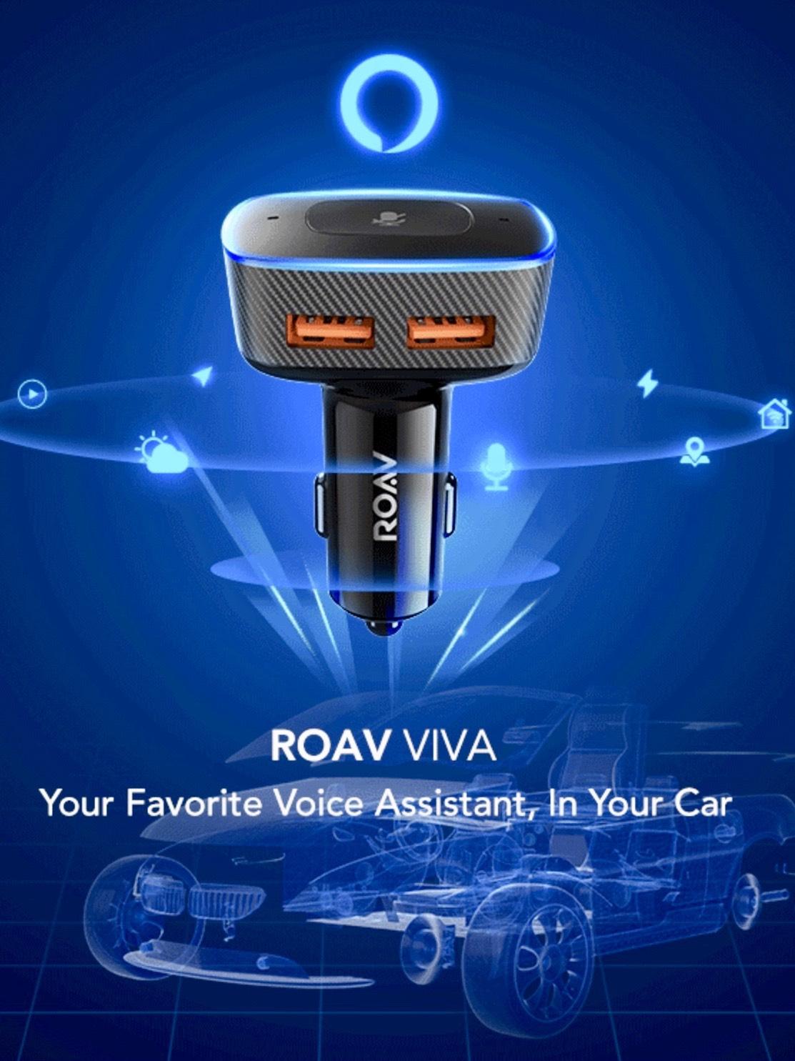 Anker Roav VIVA (Echo / Alexa fürs Auto) für nur 37,49 €
