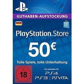 50 Euro Psn Guthaben für Ps4 Ps3 Vita Psn Store Deutschland