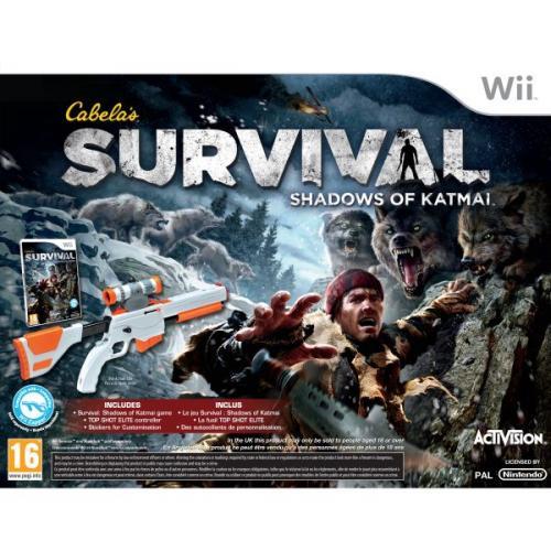 Nintendo Wii - Cabelas Survival: Shadows of Katmai Bundle (Spiel+Gun) für €16,20 [@Zavvi.com]