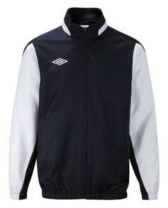 Umbro Shower Jacket Regenjacke navy/weiß