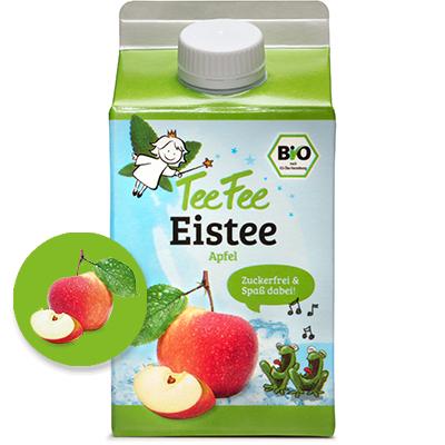 Bio Apfel Eistee ohne Zucker
