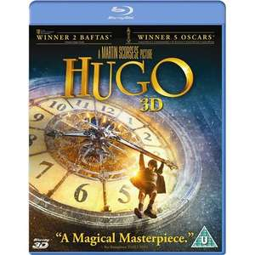 [Blu-Ray] Hugo Cabret 3D (2D+3D Version) für 8,99 Euro bei play.com