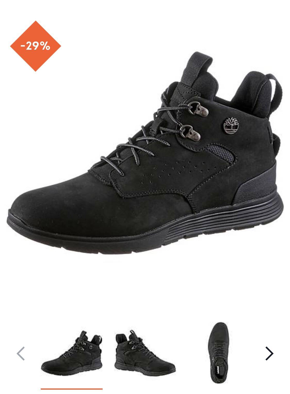 TIMBERLAND Killington Sneaker Herren in triple black LOKAL BIELEFELD