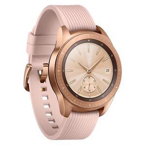 Samsung Galaxy Watch R810 in 42mm in Rosegold für 206,91€ inkl. Versandkosten mit ebay Plus