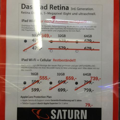 iPad Angebote in Saturn Dortmund