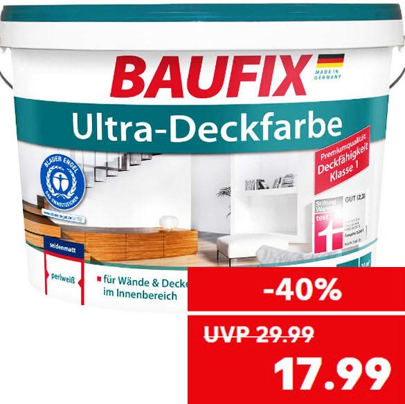 Klasse 1 Deckfarbe, 10 Liter zum Bestpreis für nur 17,99€ bei ( Kaufland )