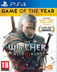 Witcher 3: Wild Hunt - Game of the Year Edition (PS4 & Xbox One) für 17,03€ (Shopto)