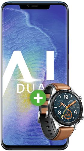 Huawei Mate 20 Pro + Huawei Watch GT + O2 M Boost 20 Gb LTE
