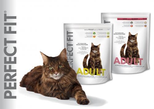 Paket Perfect Fit Katzenfutter gratis auf Saalemesse in Halle + Gutscheine