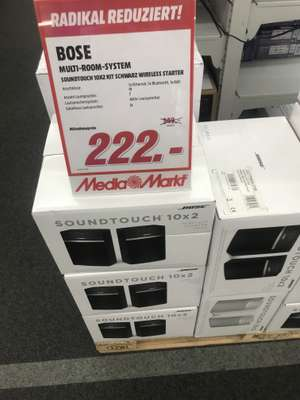 Lokal MM Hannover Wülfel Bose SoundTouch 10 x 2