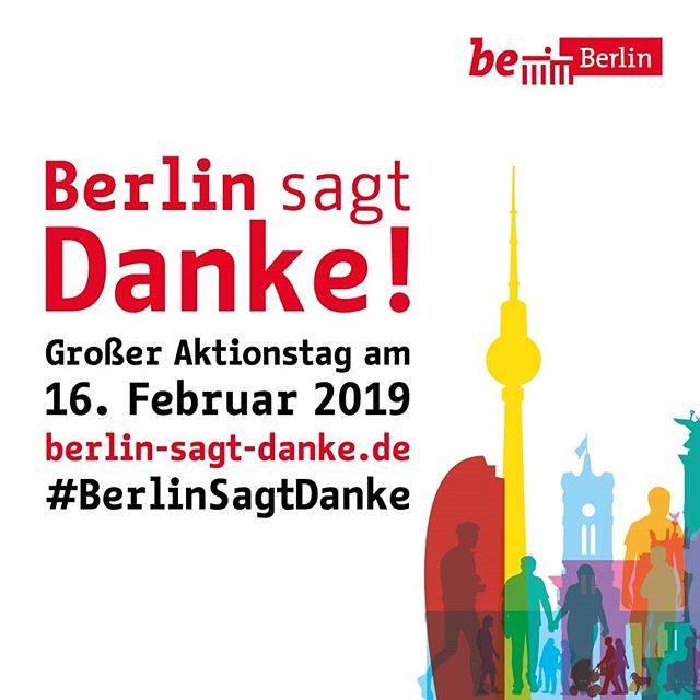 Berlin sagt DANKE [Lokal Berlin]