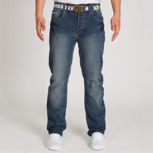 """(UK) Jeanshose """"Seven Series Fuel Jeans - Dark Wash"""" für umgerechnet 11.23€ @ Zavvi"""